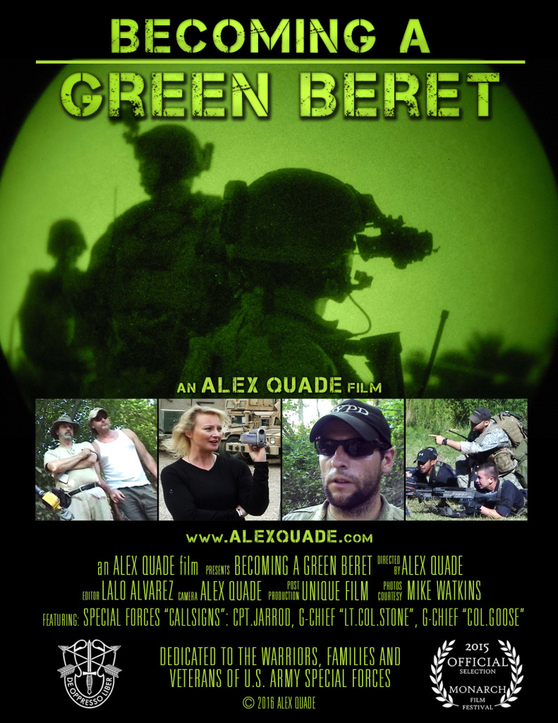 Alex Quade reports: Becoming a Green Beret