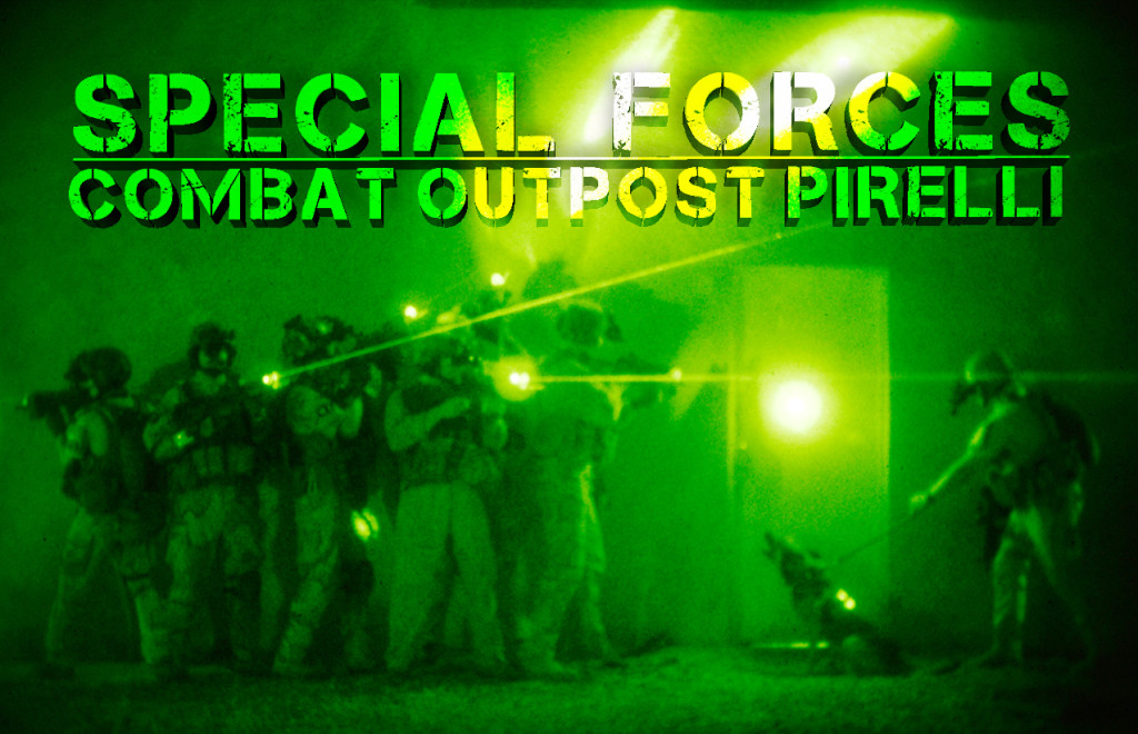 Alex and Special Forces Combat Outpost Pirelli