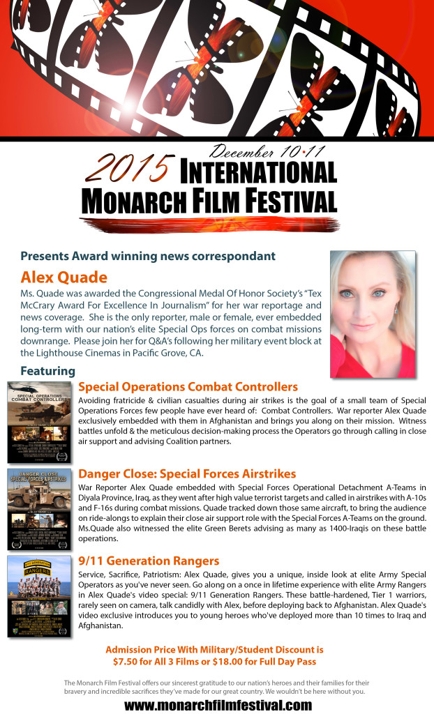 Alex Quade wins Jury Award at film festival